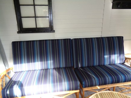 Truro Cape Cod vacation rental - Lovely Furniture In The Morning Light