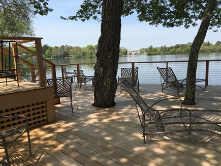 Centerville Centerville vacation rental - Sitting on the lower deck you feel you're floating on water.