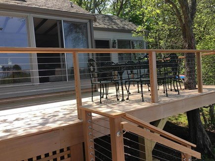 Centerville Centerville vacation rental - Meals taste even better lakeside on the upper deck.