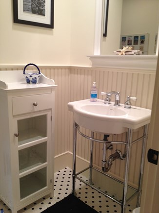 Dennis Cape Cod vacation rental - Upstairs Full bath sink area