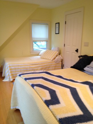 Dennis Cape Cod vacation rental - Bedroom #1 with, attached bathroom, King bed and single bed
