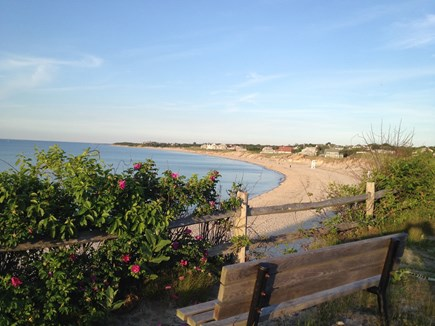 Dennis Cape Cod vacation rental - Beautfiul Corporation Beach approximately 1/3 mile away