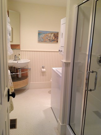 Dennis Cape Cod vacation rental - Downstairs full bath and washer/dryer