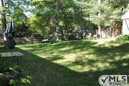 Centerville Centerville vacation rental - Private fenced in back yard with outside shower!