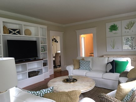 Harwichport Cape Cod vacation rental - Living Room in the main house -