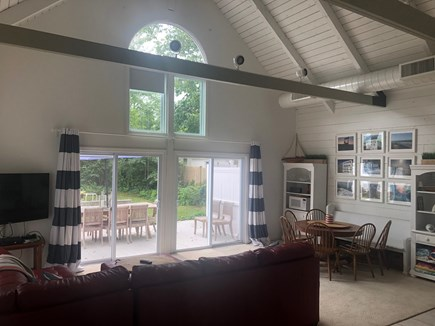 Harwichport Cape Cod vacation rental - Carriage House perfectly joining outdoor and indoor spaces!