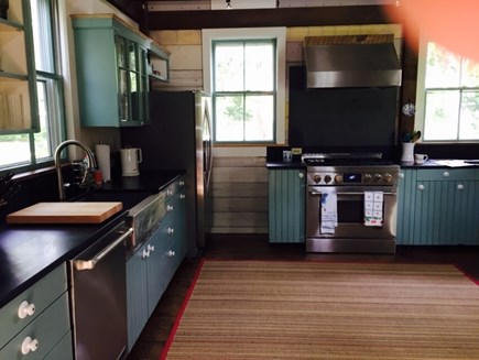 Dennis Cape Cod vacation rental - Kitchen fitted with all new stainless steel appliances