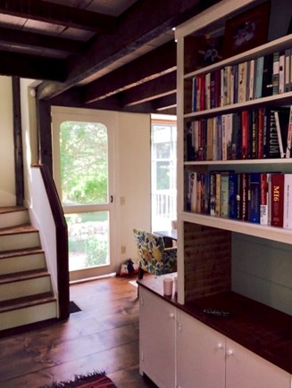Dennis Cape Cod vacation rental - Front hallway opens from front to back for best breezes