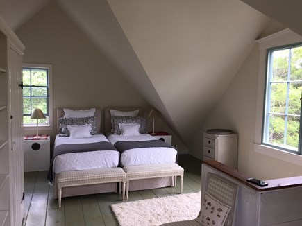Dennis Cape Cod vacation rental - Twin beds on 3rd level & en suite bathroom + double bed in alcove