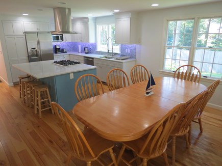 Harwich Cape Cod vacation rental - Brand new, bright, social kitchen flows into dining area.
