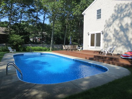 Harwich Cape Cod vacation rental - The pool is large and heated.