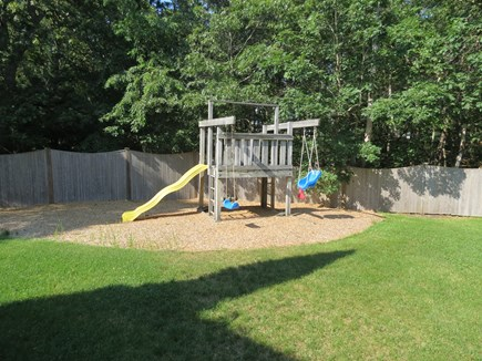 Harwich Cape Cod vacation rental - Kids will love the private playscape.
