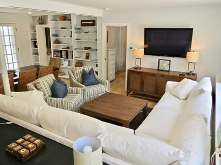 Chatham Cape Cod vacation rental - Multiple lounge areas provide a variety of places to gather.
