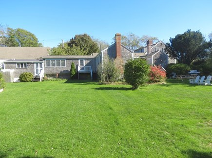 Chatham Cape Cod vacation rental - Sweeping lawns provide excellent, safe play space for children.