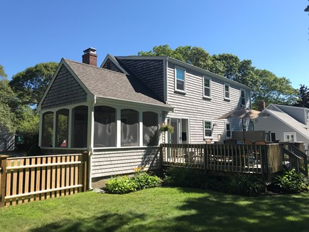 Falmouth Cape Cod vacation rental - Large fenced in yard