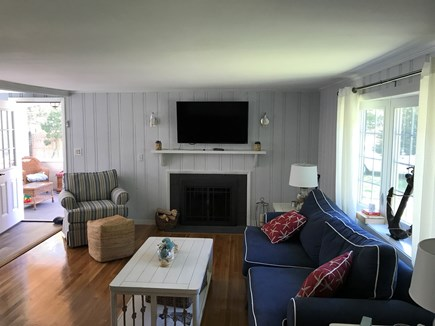 Falmouth Cape Cod vacation rental - Living room with tv/cable
