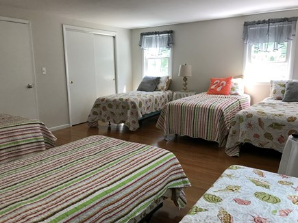 Falmouth Cape Cod vacation rental - 6 twin beds and tv/cable on second floor