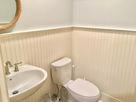 Chatham (in town) Cape Cod vacation rental - Half-bath off kitchen and sun room