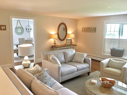 Chatham (in town) Cape Cod vacation rental - Bright, spacious, and comfortable living room