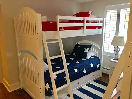 Chatham (in town) Cape Cod vacation rental - 1st Floor - Kids room has two bunk beds (4 twin beds in total)