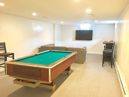 Chatham (in town) Cape Cod vacation rental - Lower-Level Pool room