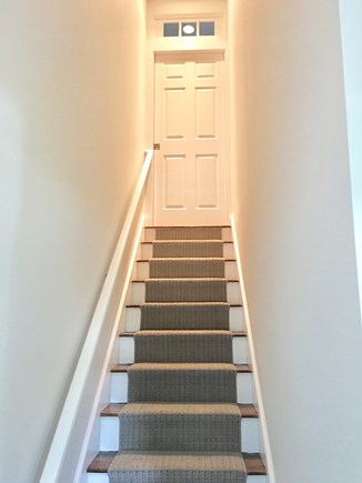 Chatham (in town) Cape Cod vacation rental - Stairs leading to 2nd floor King Master (one of TWO king masters)