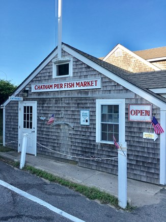Chatham (in town) Cape Cod vacation rental - Chatham Fish Pier - grab chowder or fresh fish, 5 min walk