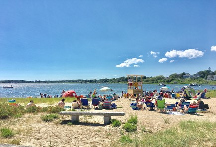 Chatham (in town) Cape Cod vacation rental - Oyster Pond Beach - a quick walk down Old Harbor Rd
