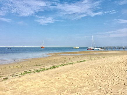 Chatham (in town) Cape Cod vacation rental - Walk from our house to Claflin Landing Beach on Shore Rd.