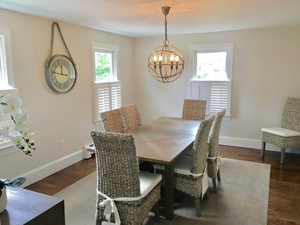 Chatham (in town) Cape Cod vacation rental - View of dining room from kitchen