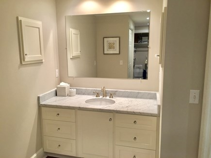 Chatham (in town) Cape Cod vacation rental - En suite vanity area in the 1st floor King Master