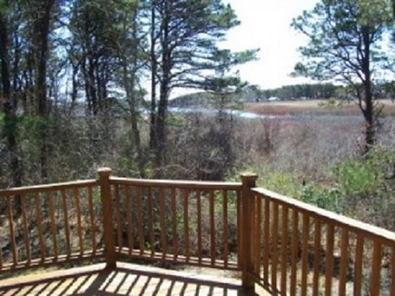 South Yarmouth  Cape Cod vacation rental - Wrap around deck view of creek.