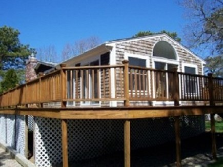 South Yarmouth  Cape Cod vacation rental - Large wrap around deck