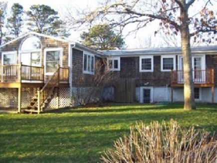 South Yarmouth  Cape Cod vacation rental - Large Back Yard with walk-out