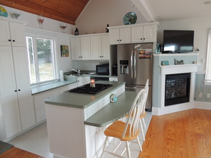 West Dennis - Bass River Cape Cod vacation rental - Full and functional kitchen