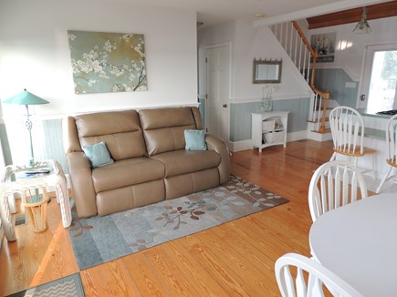 West Dennis - Bass River Cape Cod vacation rental - First floor living room