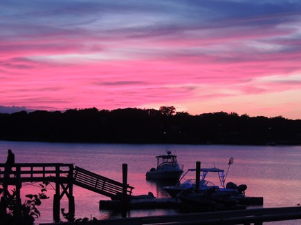 West Dennis - Bass River Cape Cod vacation rental - Yes,  this is a real picture!!!