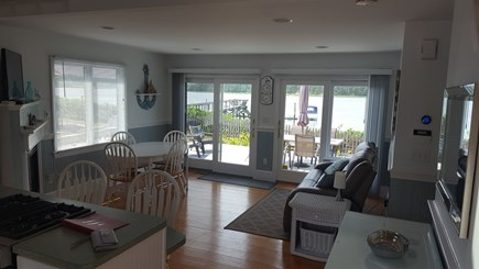 West Dennis - Bass River Cape Cod vacation rental - View from every room!