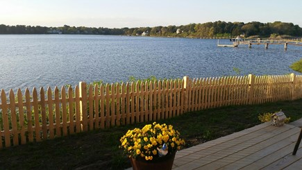 West Dennis - Bass River Cape Cod vacation rental - Quite, peaceful surroundings so you can relax or kayak, swim....