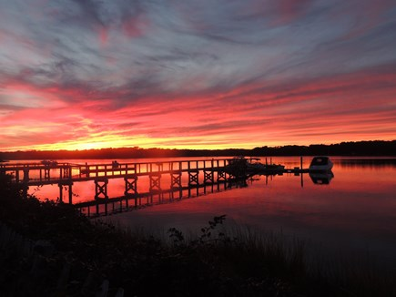 West Dennis - Bass River Cape Cod vacation rental - Sit on your private deck and relax