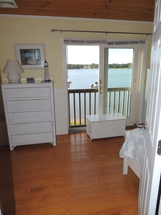 West Dennis - Bass River Cape Cod vacation rental - Master Bedroom Water View