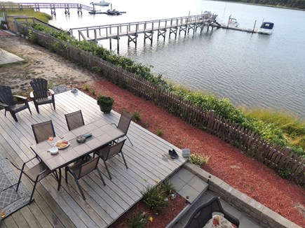 West Dennis - Bass River Cape Cod vacation rental - Two outside decks to enjoy the views