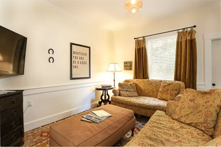 Harwich Center Cape Cod vacation rental - The entertainment room with plush seating