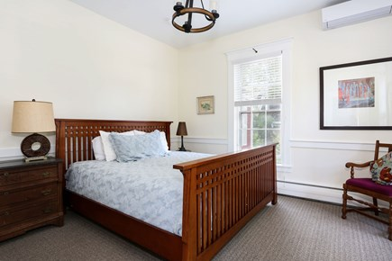 Harwich Center Cape Cod vacation rental - The main bedroom on the first floor has a king bed