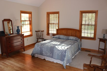 Eastham Cape Cod vacation rental - Master bedroom, first floor, en suite bathroom w/ walk in shower.