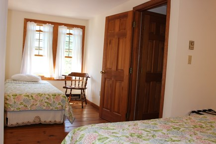 Eastham Cape Cod vacation rental - Bedroom #1, 2nd floor. Queen and twin. Bathroom between bedrooms.