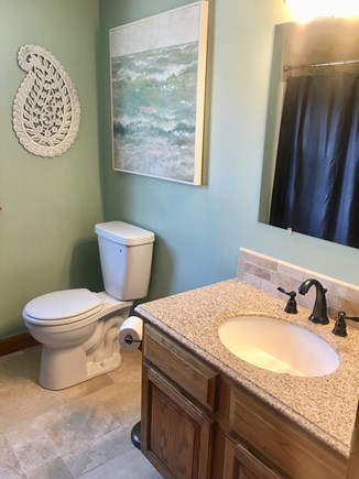 Eastham Cape Cod vacation rental - Second floor full bath, between bedrooms.