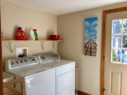 Eastham Cape Cod vacation rental - Laundry Room with quick access to outdoor shower.