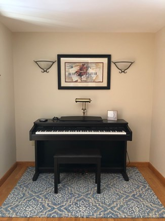 Eastham Cape Cod vacation rental - Musician? Entertain with the full keyboard Clavinova.