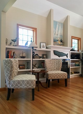 Eastham Cape Cod vacation rental - Another view of the family room.
